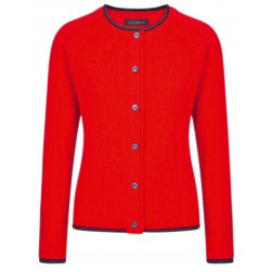 Cardigan Killiney rouge