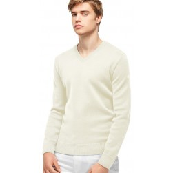 Pull col V Crozon homme Naturel