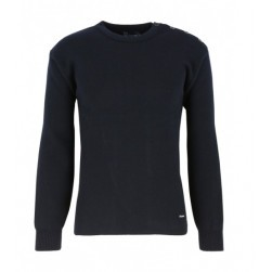 Pull marin Fouesnant homme marine