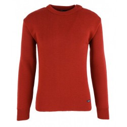 Pull marin Fouesnant homme rouge