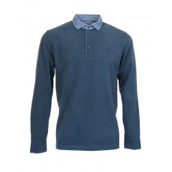 Polo ML Mermoz homme Marine