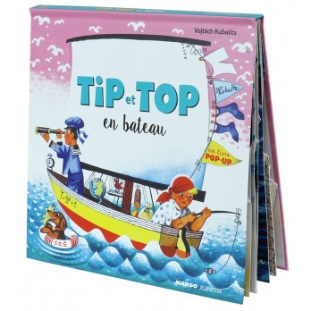 « Pop-up » Tip et Top en bateau
