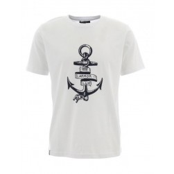 Tee-shirt homme sérigraphie ancre
