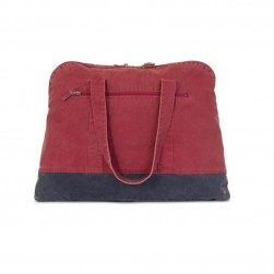 Sac canvas Blez Maxi rouge/marine