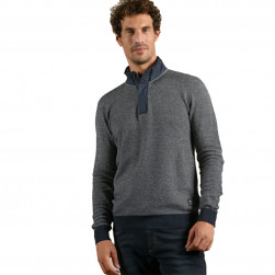 Pull camionneur homme Twelve marine