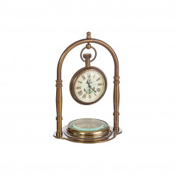 Horloge de table «antique» avec boussole