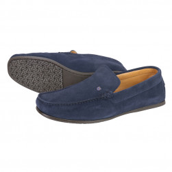 Mocassin daim homme Azores, marine