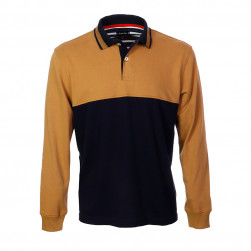 Polo bicolore confort