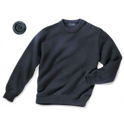 Pull marin 100% laine coupe ample Taille 5 (XL)