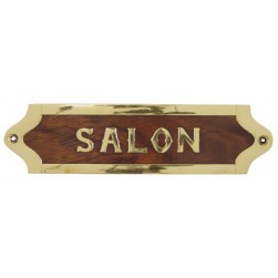 Plaque Salon