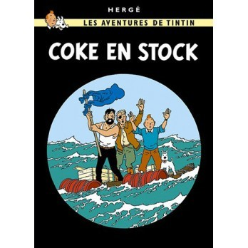 Tintin, Coke en stock