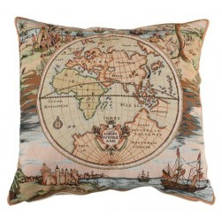 Coussin tapisserie Europe