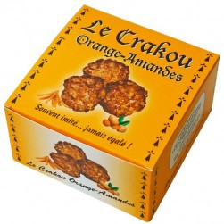 Craquants orange amandes