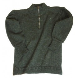 Pull Guernesey col camionneur