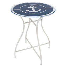 Table d'appoint ancre