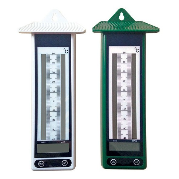 Lot de 2 thermom tres ext rieurs mini maxi instruments for Thermometres exterieurs