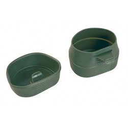 Lot de 2 tasses pliantes