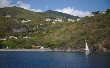 Départ Transat retour en solitaire depuis Petite Anse (Guadeloupe)