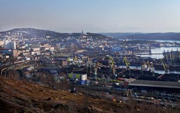 mourmansk port russie