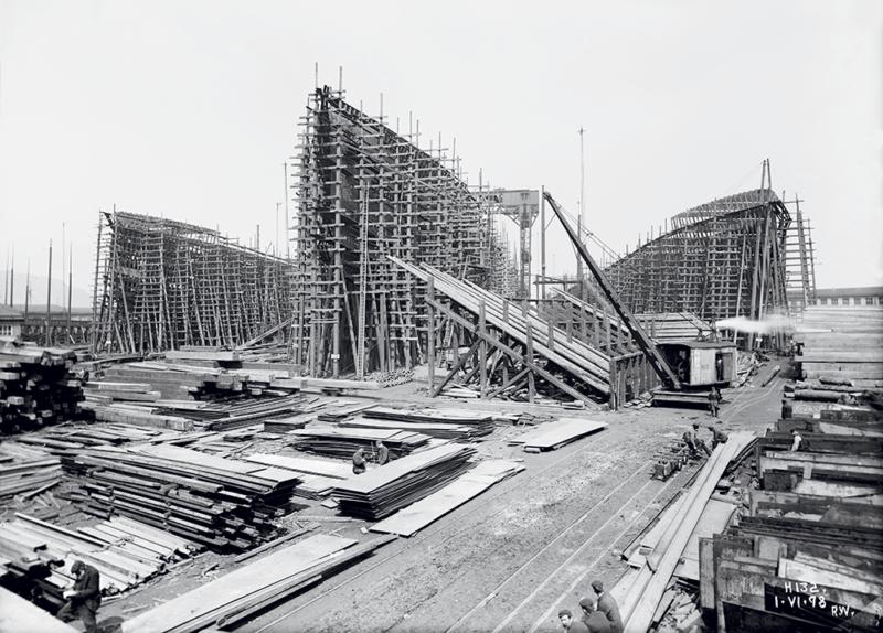chantier Harland & wolf titanic