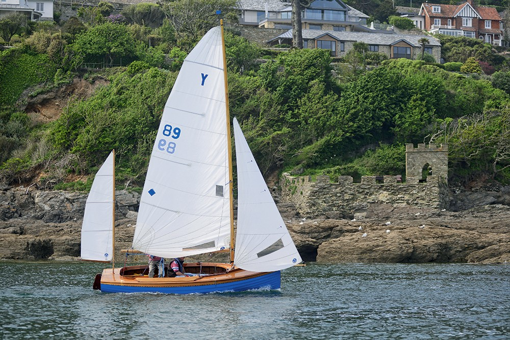 Salcombe yawl bateau traditionnel anglais