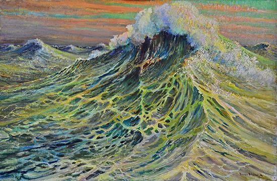 Pierre Fleur peintre maritime