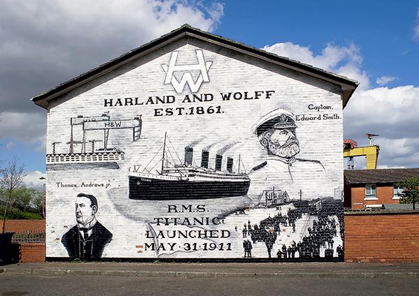 chantier Harland & wolf grande Bretagne titanic