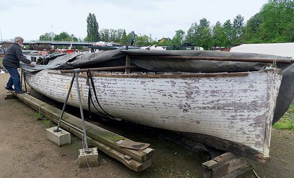 Simon evans bateau de sauvetage