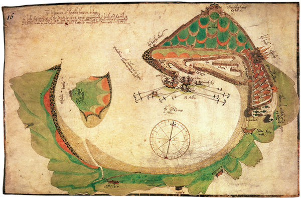 carte san sebastian 1585