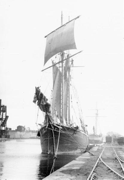 exposition derniers voiliers trégor Association Océanide
