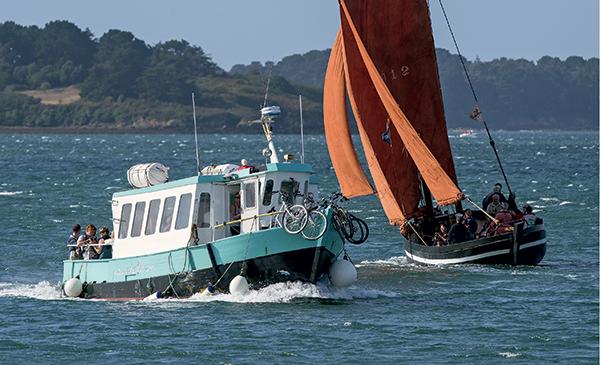 forban bono bateau traditionnel golfe morbihan