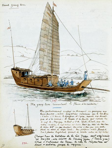 Jonques & sampans Étienne sugaut