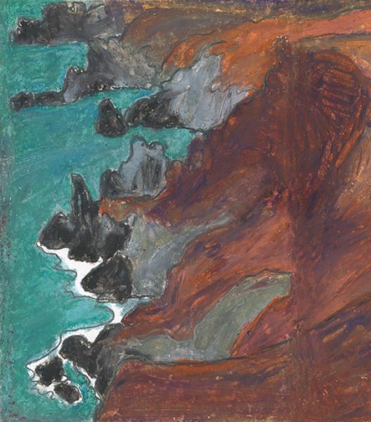 peinture mer belle ile zylberman