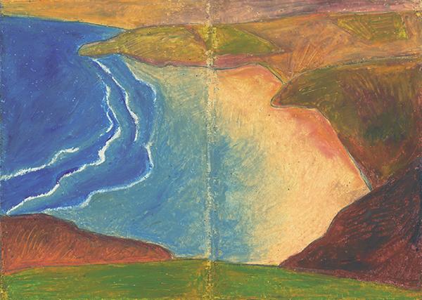 peinture zylberman belle île Flaubert