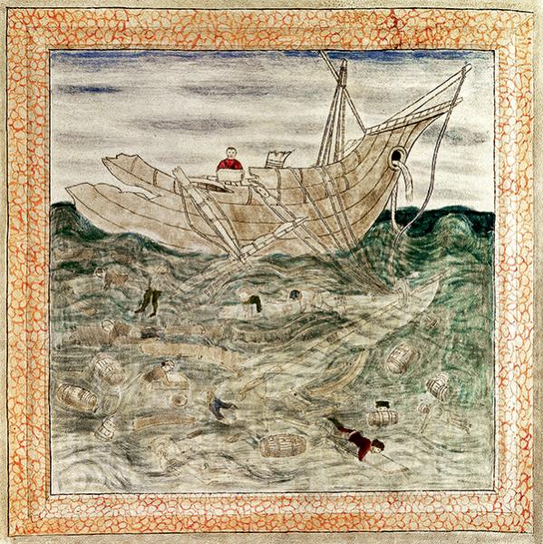 Navigation routier de la mer pierre Garcie