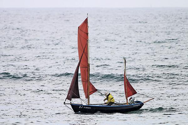 chez les aficionados de la navigation légère, Didier Cariou