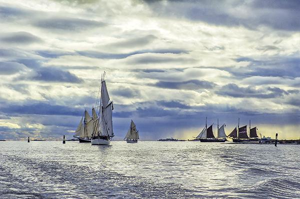 viapori finlande voiliers traditionnels port goélettes