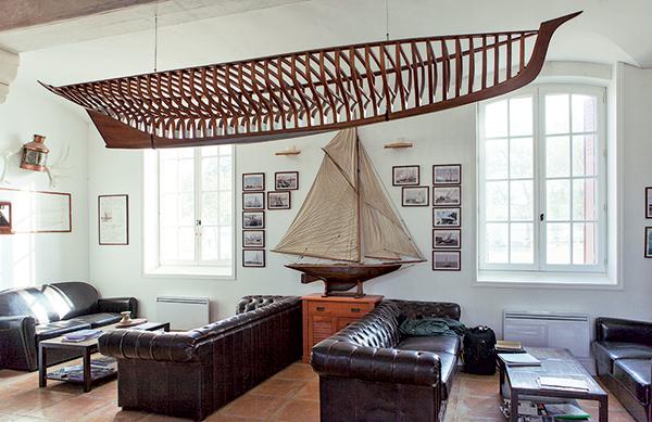 Yacht-club classique maquette
