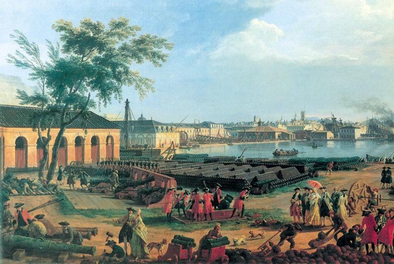 la fabriue royale de canons de Saint-Gervais