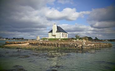 île du Nohic ria d'Étel.