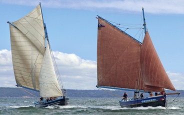 Loch Monna Dalh Mad bateau traditionnel rade de brest