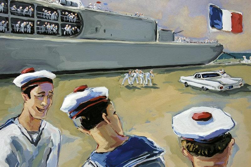Le marin à l'ancre bernard Giraudeau