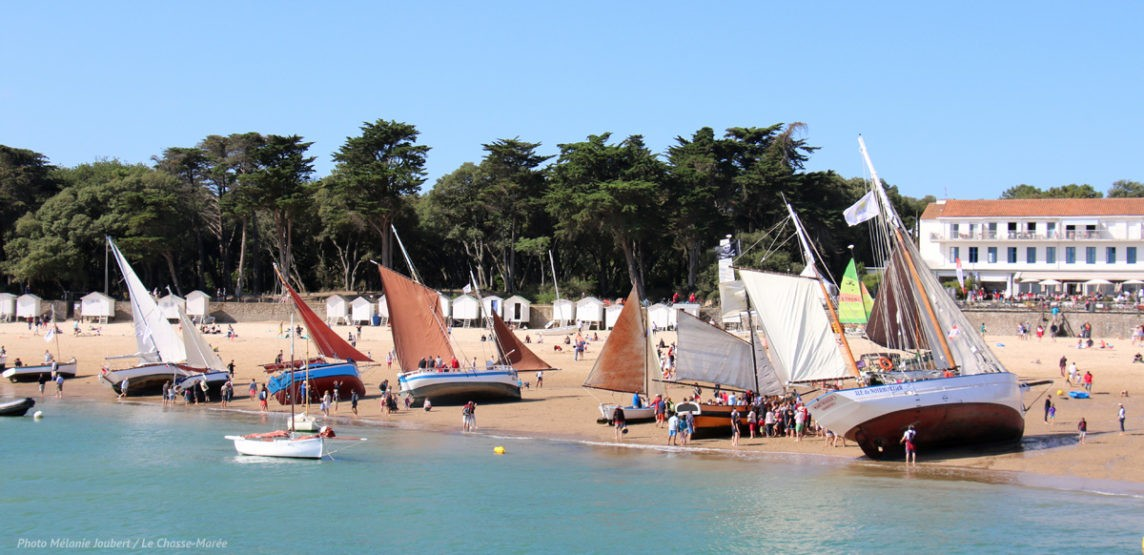 Régates du Bois de la Chaise à Noirmoutier