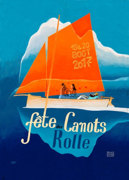 fête canot rolle