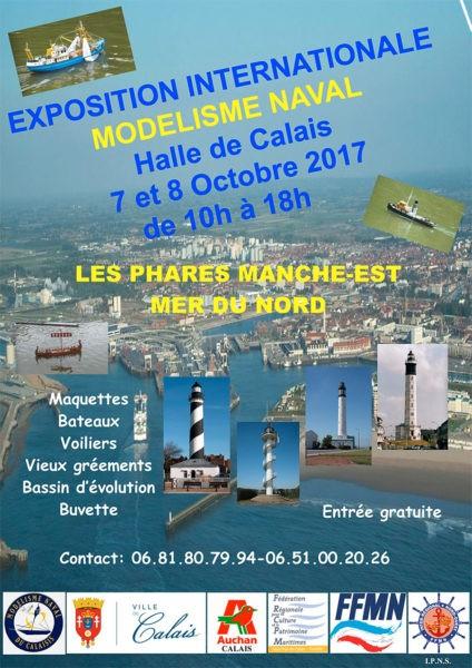 Exposition internationale de modélisme naval à Calais