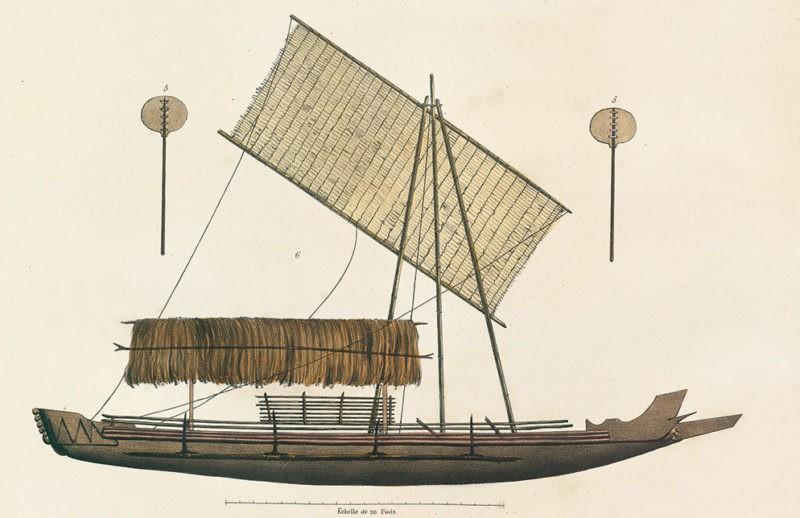 pirogue mers du sud