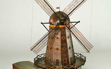 Maquette, moulin, Rochefort, arsenal