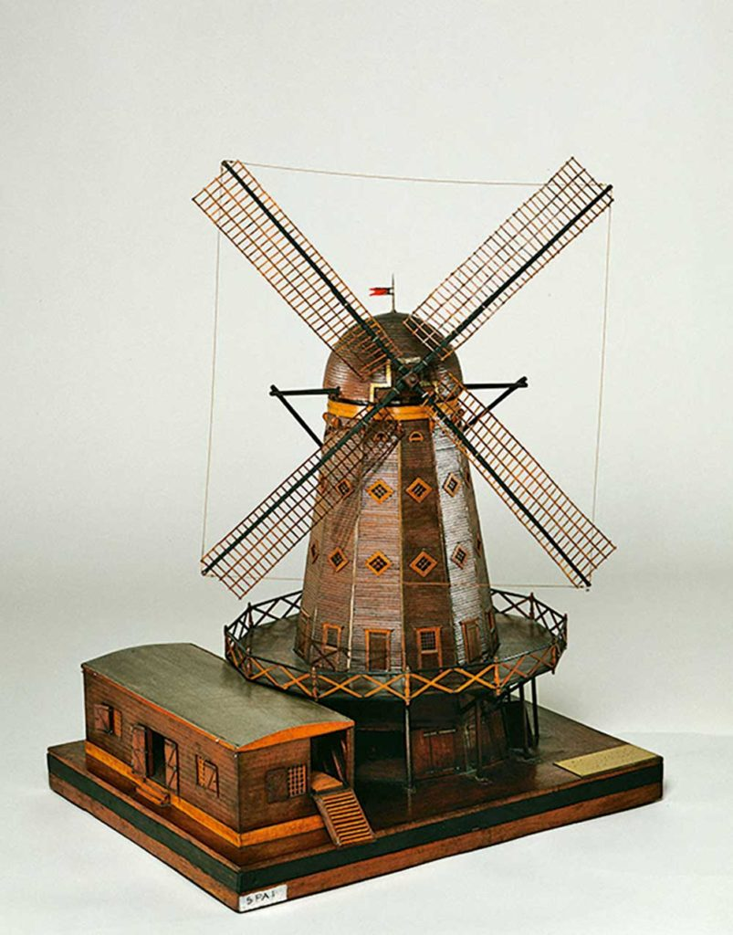 Maquette, moulin, Rochefort, arsenal