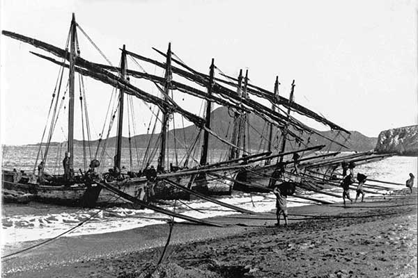 Carloforte Sardaigne minerai battelli Tabarka galanzieri
