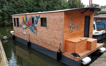 Erdre house-boat architecture navale